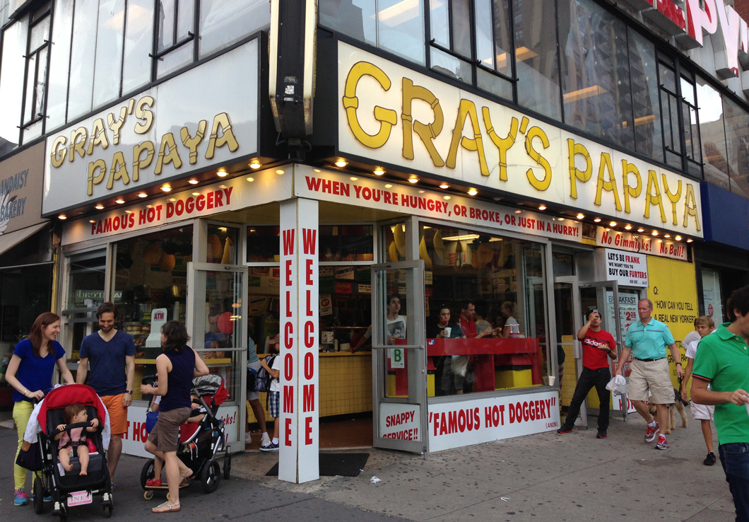 grays papaya