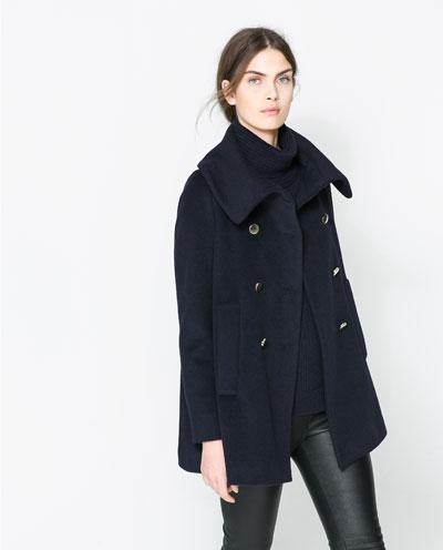 casaco azul zara nova york e voce