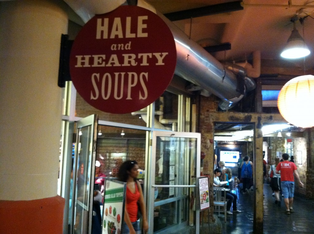 Hale & Hearty Soup 5 nova york e voce