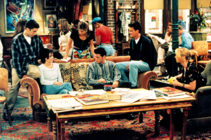 FRIENDS, David Schwimmer, Courteney Cox, Jennifer Aniston, Matthew Perry, Matt LeBlanc, Lisa Kudrow,