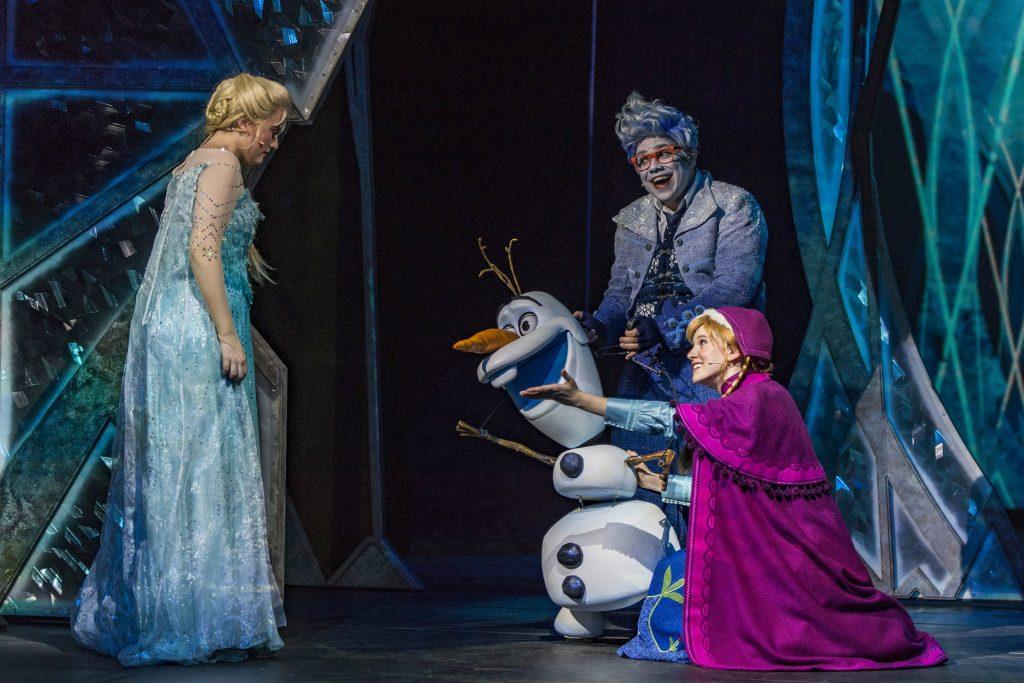 Frozen na Broadway em Nova York
