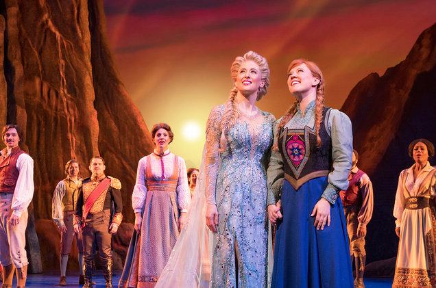 Frozen na Broadway