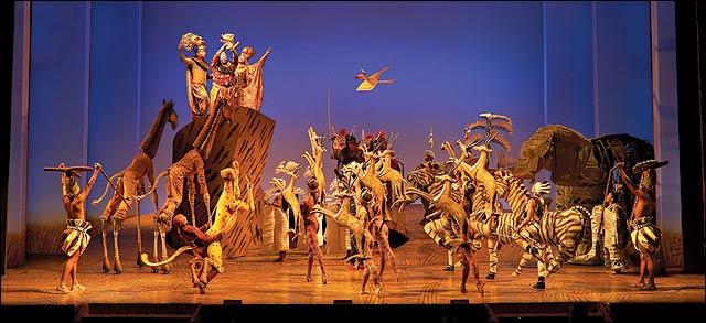 O Rei Leão na Broadway