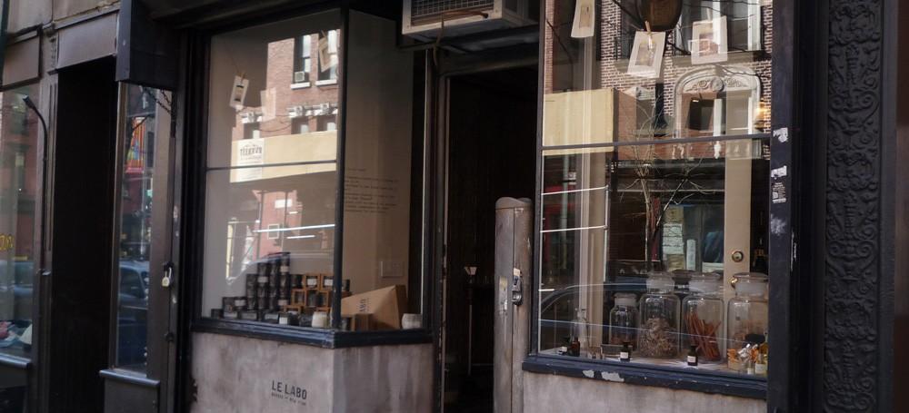 le labo loja frente nova york e voce