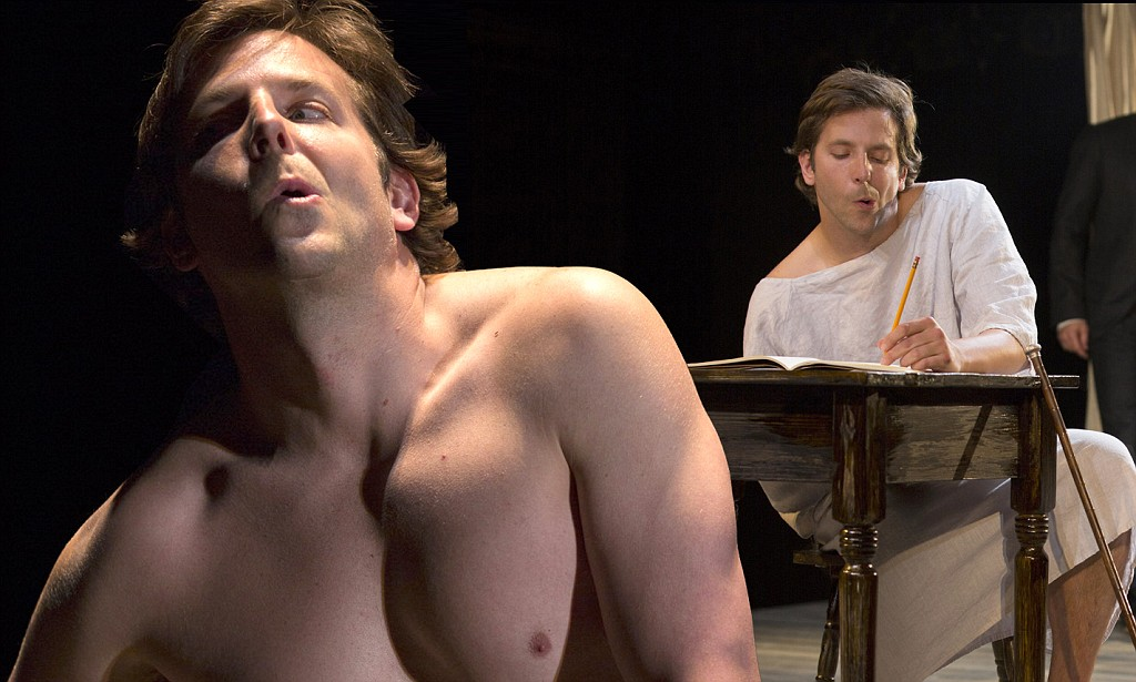 Bradley Cooper goes from 'Sexiest Man' to Elephant Man for new play.