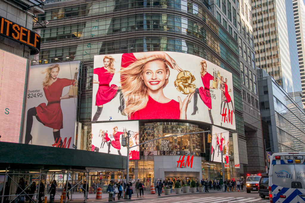 Time Square H&M
