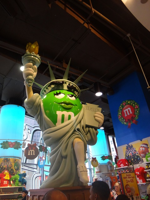 M&Ms NYC