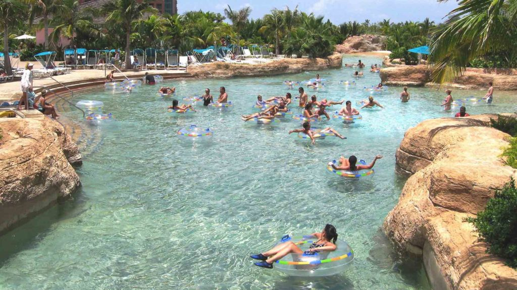 Aquaventure, Atlantis, float, naturalistic pool