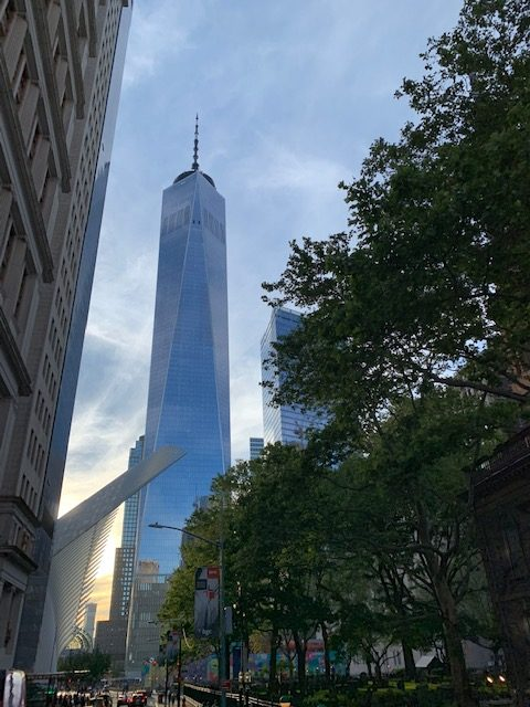 Passeio noturno em Nova York