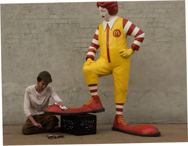 Banksy Mcdonald nova york e voce