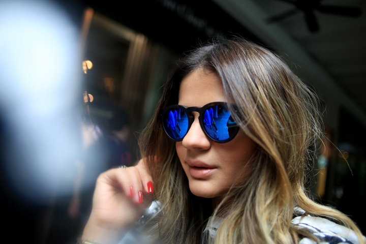oculos illesteva Thassia Naves nova york e voce