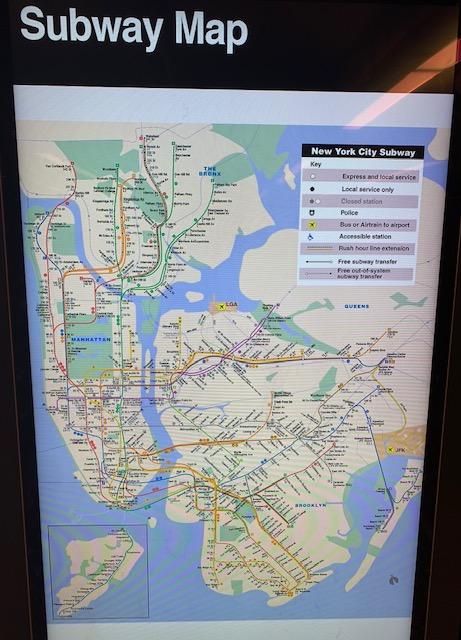 Mapa de Nova York
