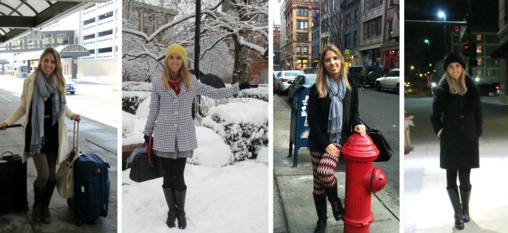 __ NY e Nebraska no inverno