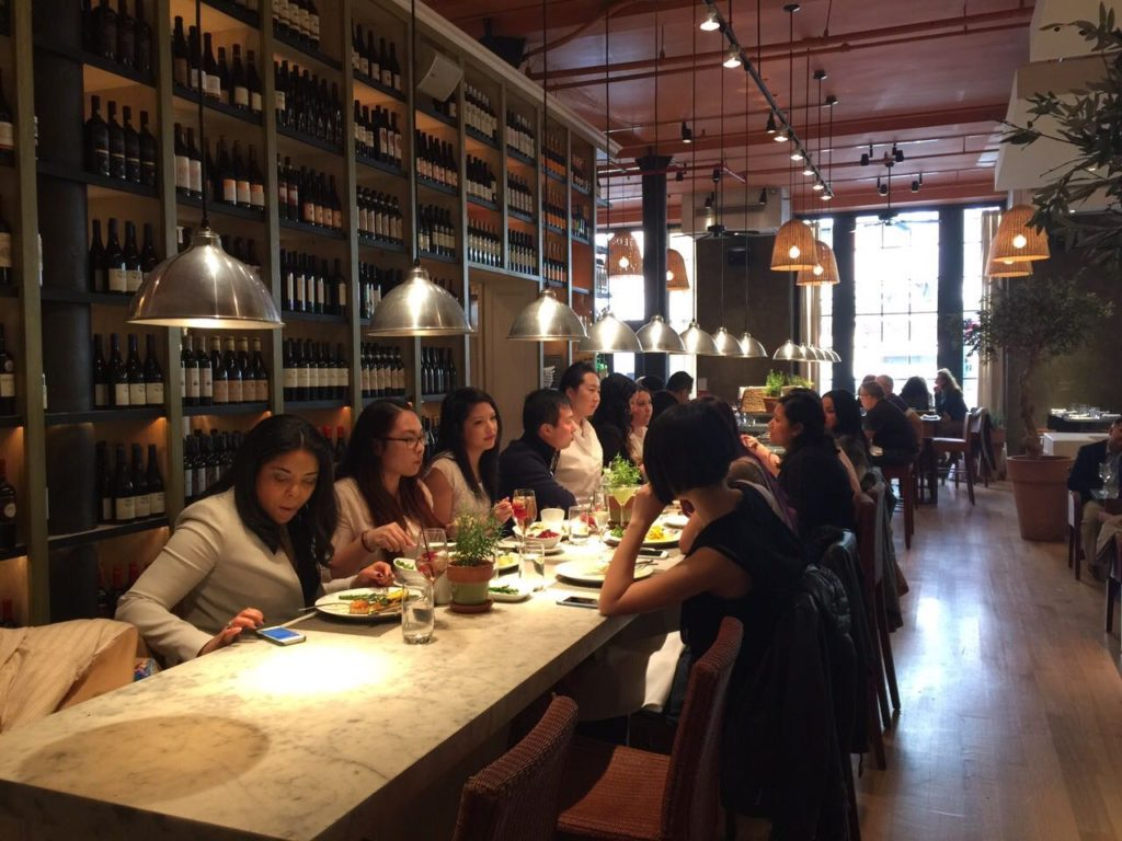 Brunch no Meatpacking  - fig and olive nyc
