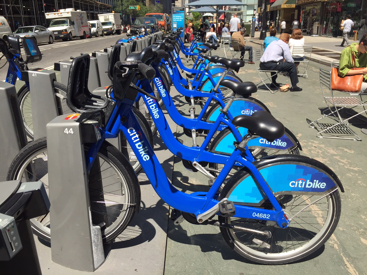 Aluguel de bicicleta em Nova York