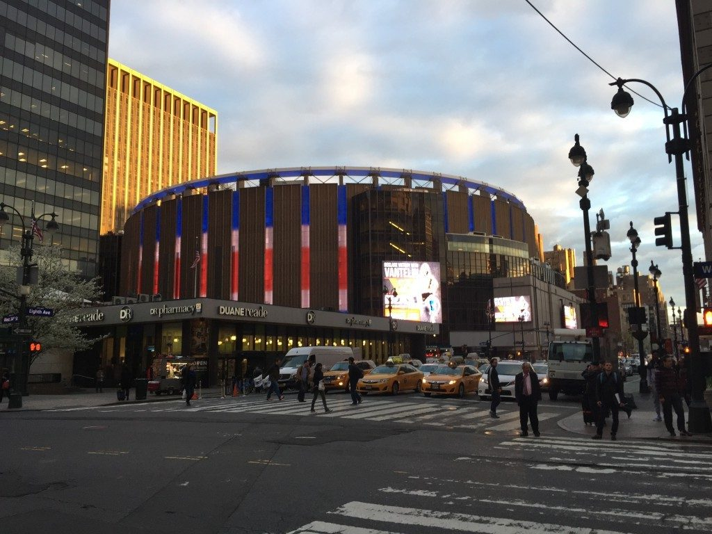 Tour Madison Square Garden