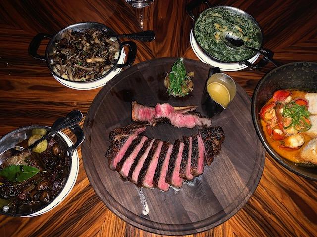 American Cut Steakhouse - ótimo restaurante de carne em Nova York.