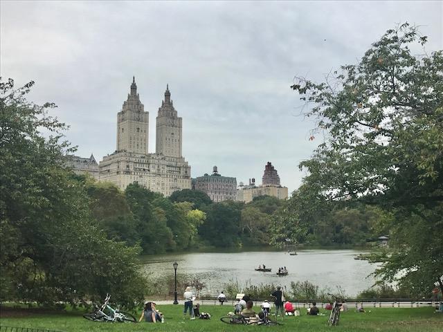 Central Park em setembro em nova york