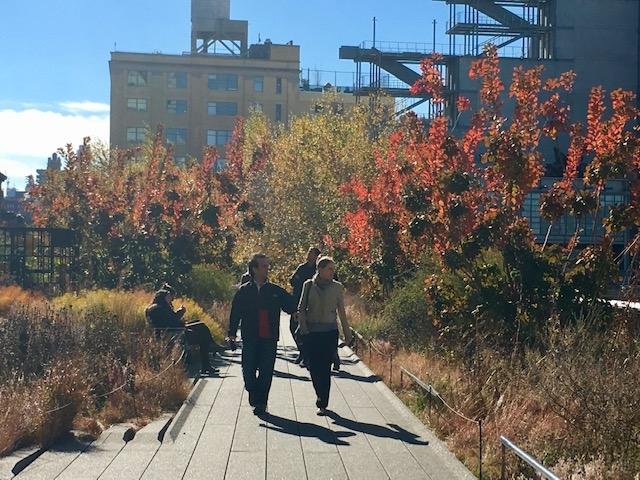High Line Park no Outono
