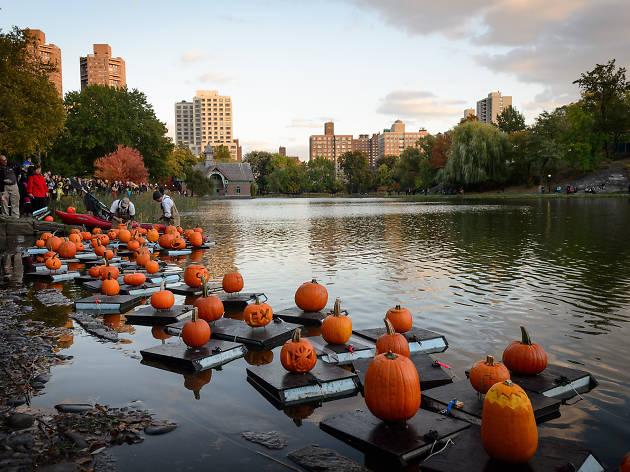 Outubro em Nova York - Halloween no Central Park