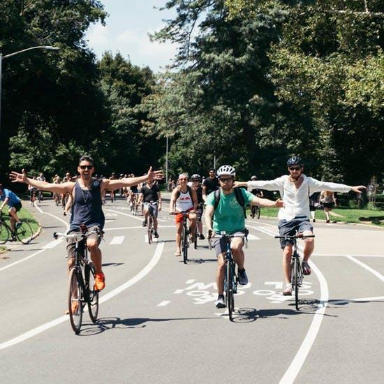 Passeio de bicicleta pelo Bronx