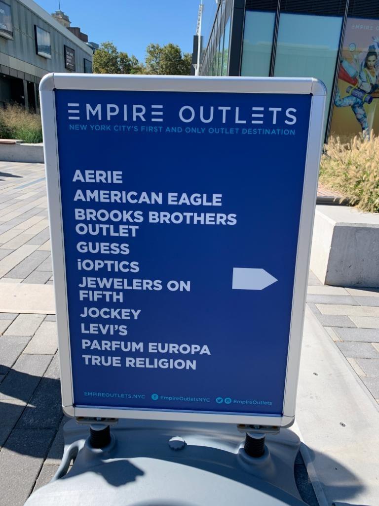 Outlets em Nova York