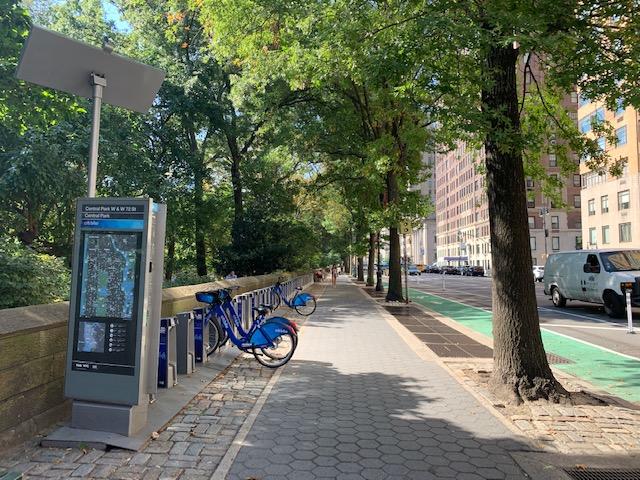bicicleta no Central Park