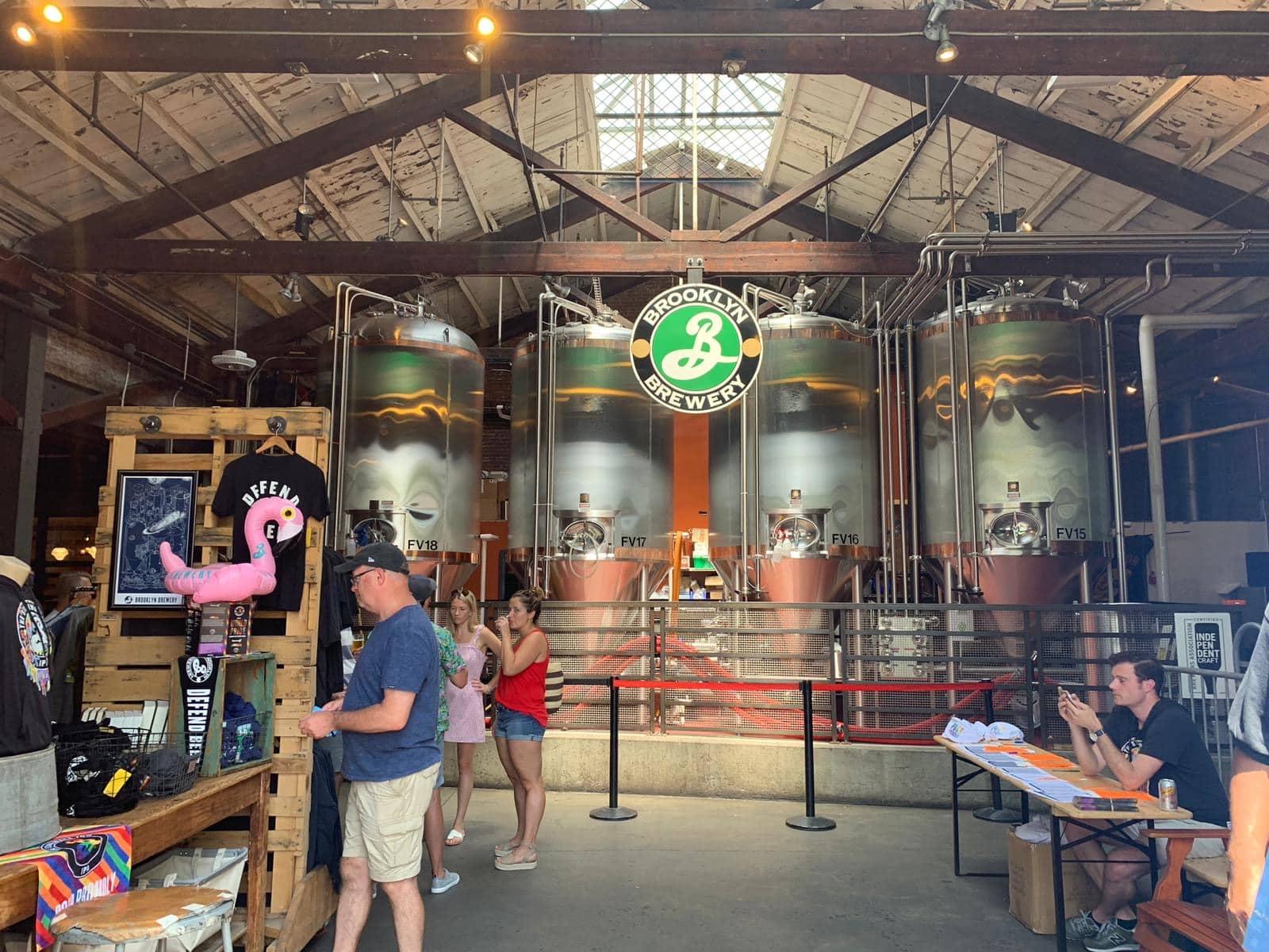 o que fazer no Brooklyn - brooklyn brewery