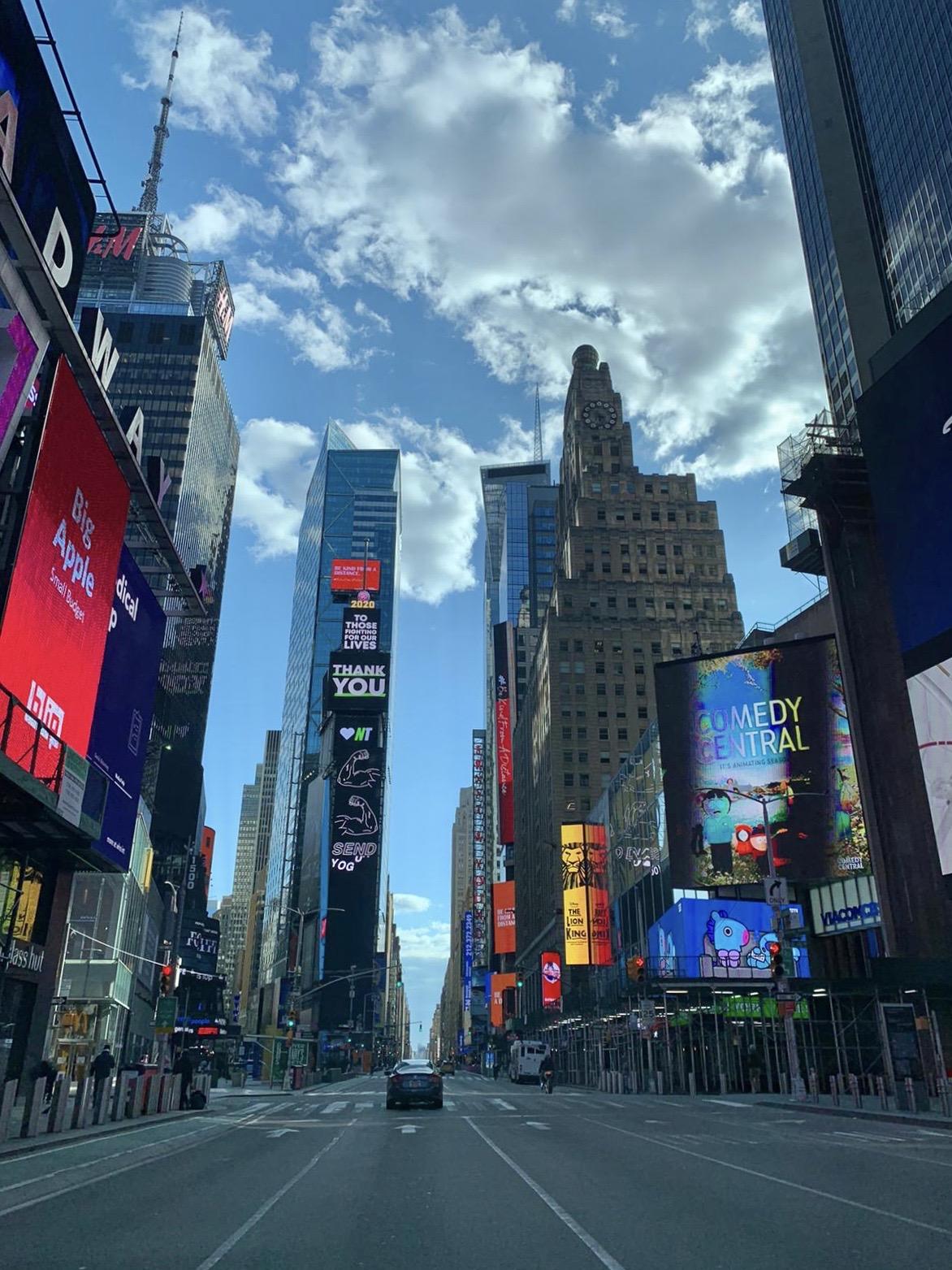 Quarentena em Nova York