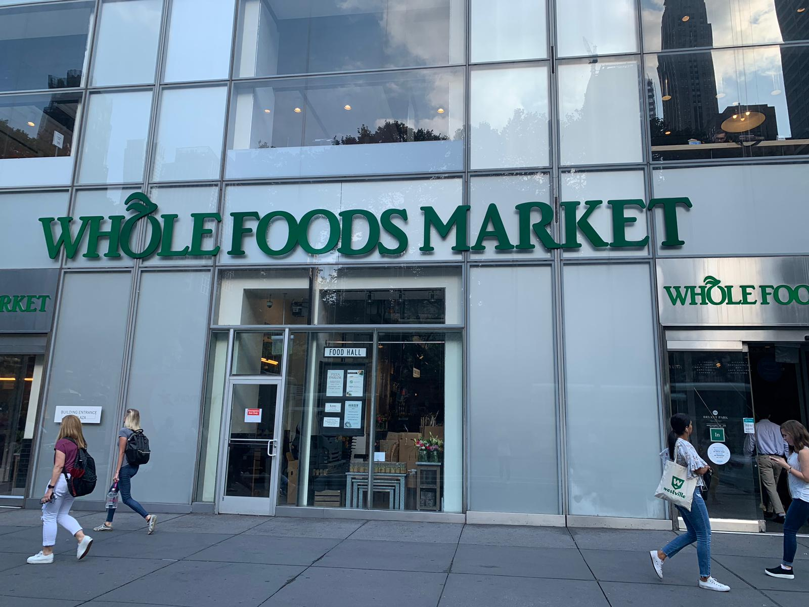 Supermercados em Nova York - WHole Foods