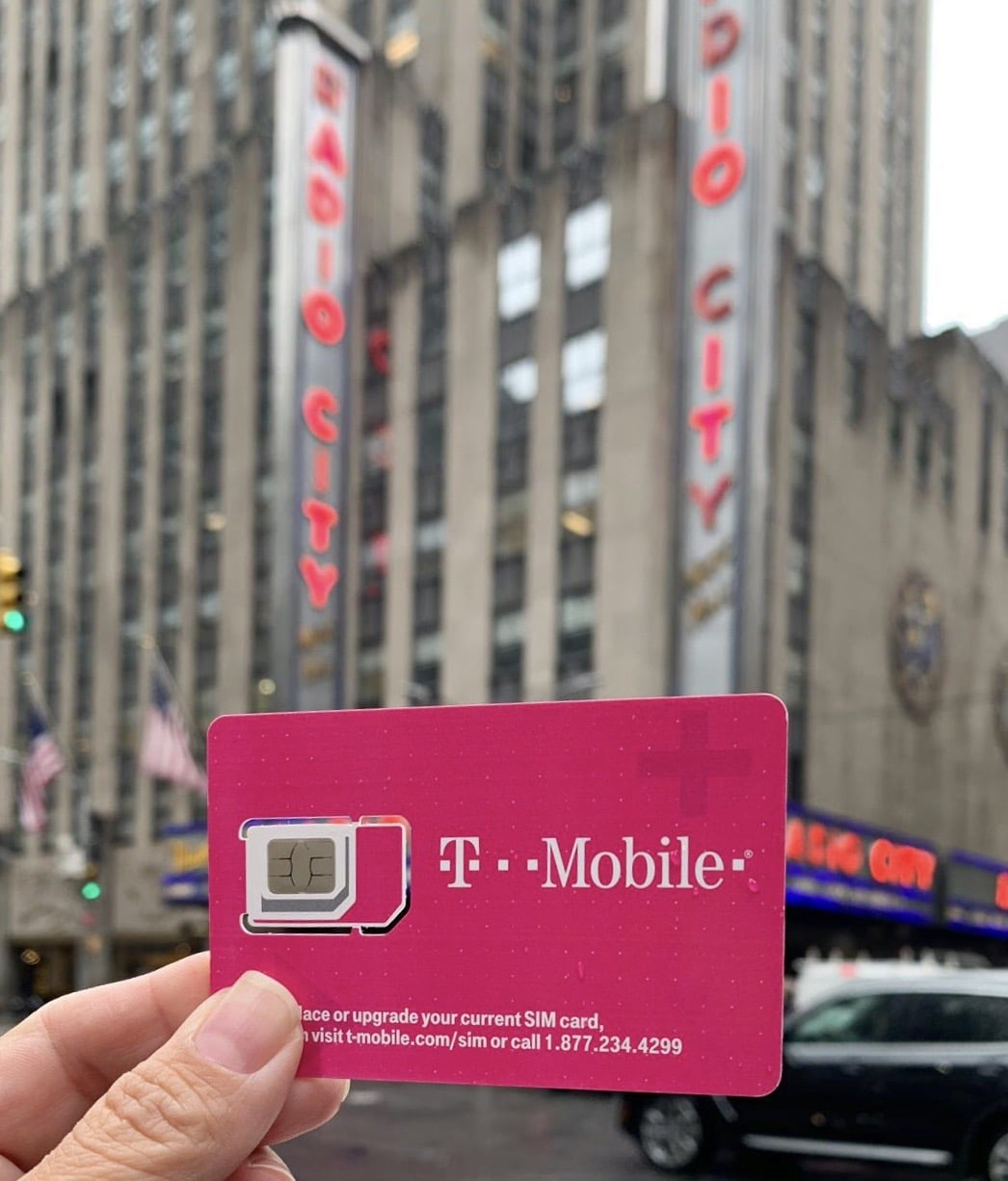 Chip de celular nos EUA