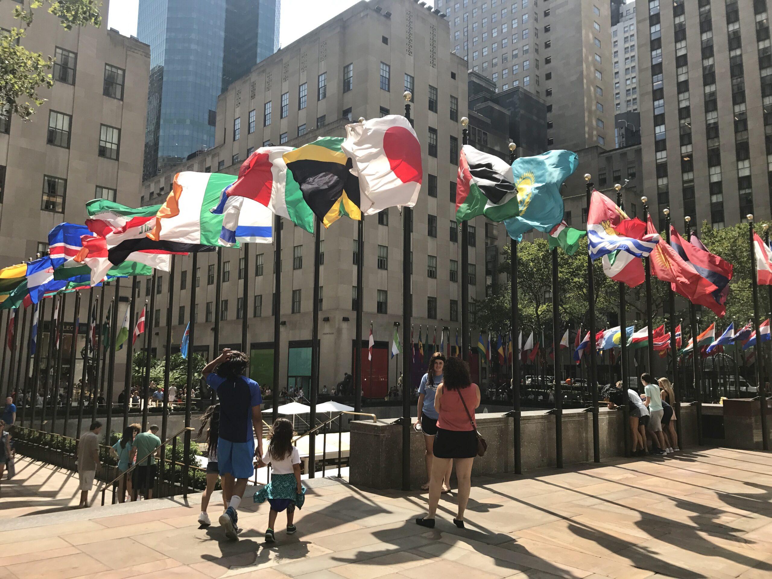 Agosto em Nova York