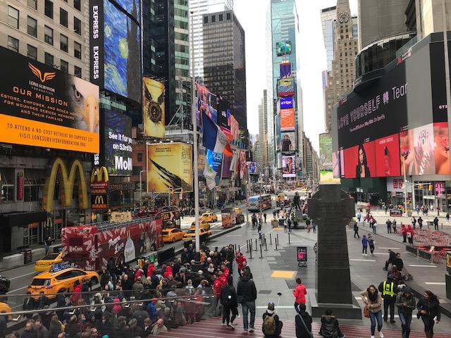 Um dia de roteiro em Nova York
