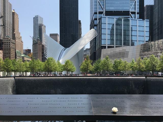 Um dia de roteiro em Nova York - memorial 11/09