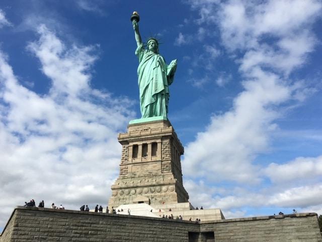 Um dia de roteiro em Nova York - estatua da liberdade