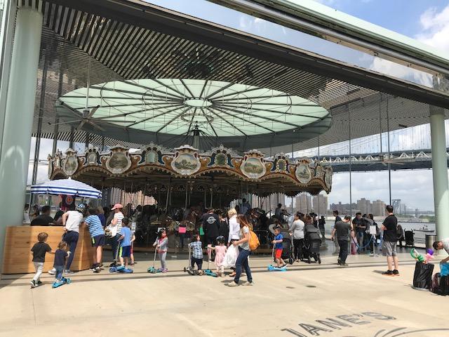 Jane's Carousel no Brooklyn