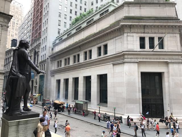 Um dia de roteiro em Nova York - wall street