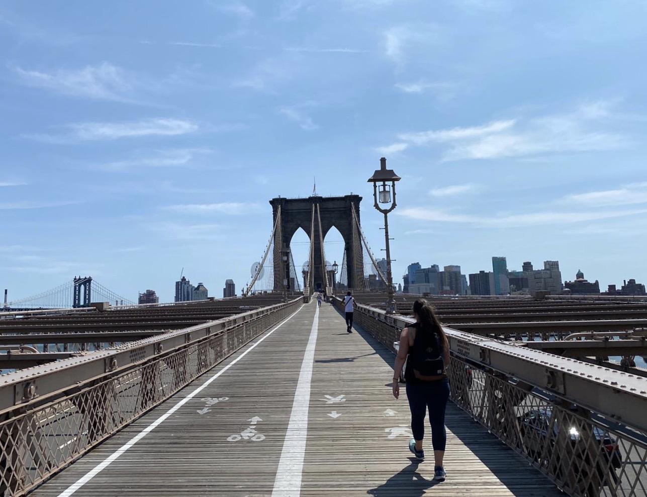 Atrações gratuitas em Nova York - brooklyn bridge
