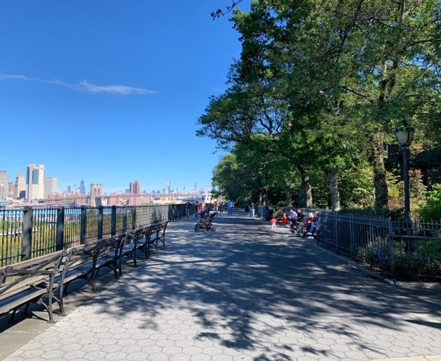 o que fazer no Brooklyn Heights Promenade