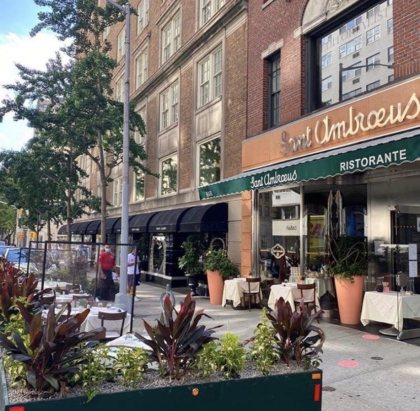 cafeterias em Nova York - sant ambroeus madison ave