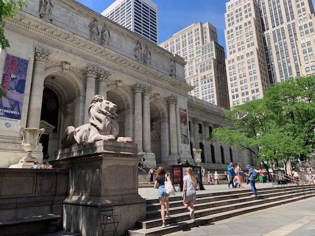 Atrações gratuitas em Nova York - public library nypl