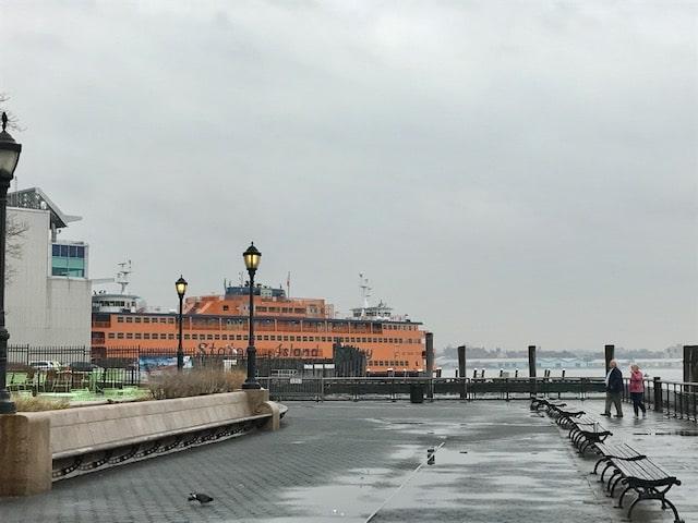atrações gratuitas de nova york - staten island ferry